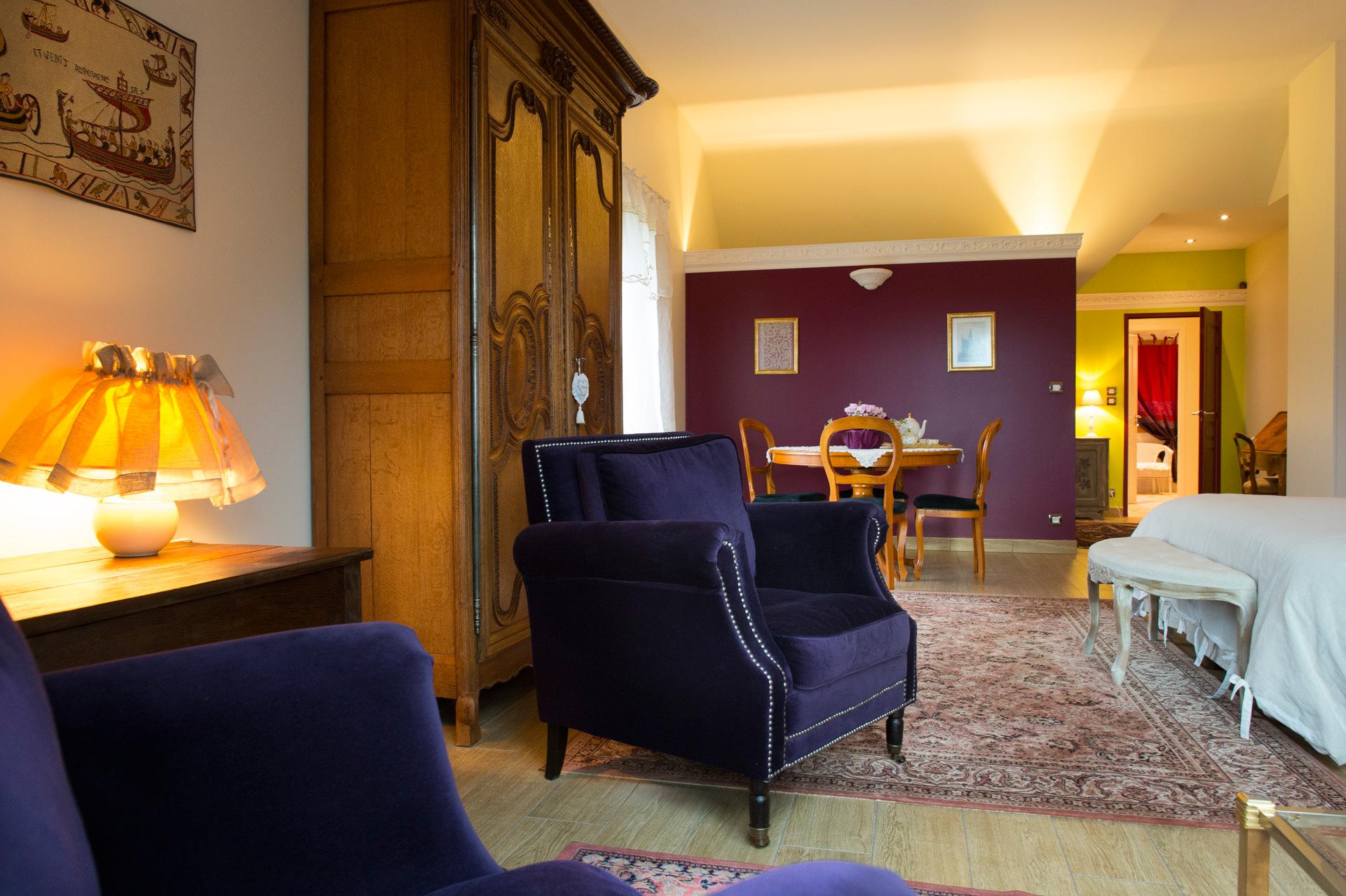 chambre d 39 h tes putanges le lac. Black Bedroom Furniture Sets. Home Design Ideas